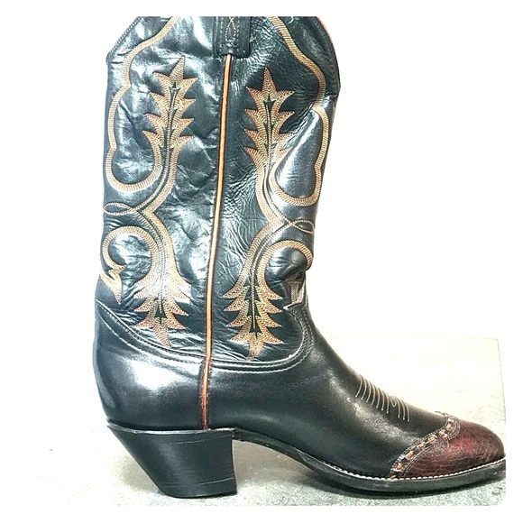 Wingtip Cowboy Boots